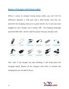 Why Keep Away From Cheap USB Chargers - Page 5