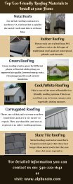 Green Roofing   Energy Efficient Roof