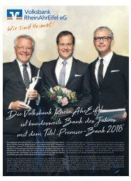 Magazin rund um die Volksbank RheinAhrEifel eG