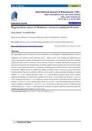 Regeneration status of Dodoneae viscosa in malakand division