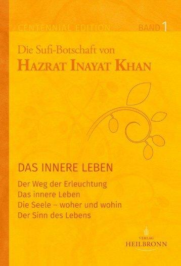Das innere Leben - Band 1 der Gesamtausgabe von Hazrat Inayat Khan