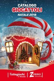 Catalogo Natale 2018 Zorro Giocattoli
