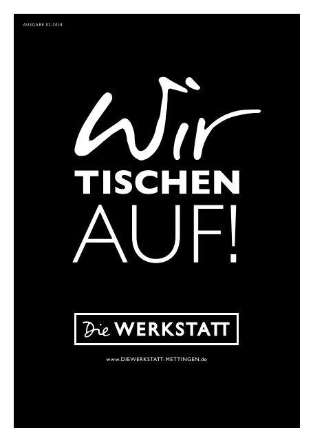 WERKSTATT-Zeitung – Wir tischen auf!