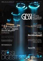 Gessi - Catálogo - 2018 - Revista de Imagen