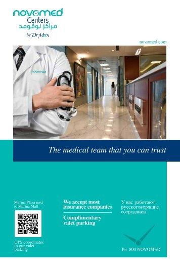 Novomed Centers Booklet