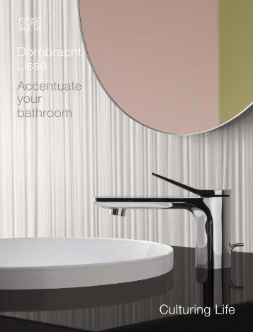 Dornbracht Bath - Catálogo - Lissé