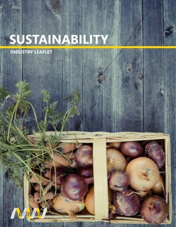 Sustainability - full text leaflet
