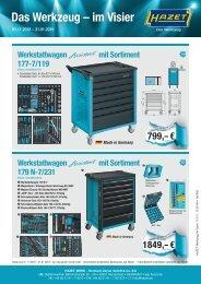 HAZET Werkzeug im Visier - Nov-Jan mit Preise