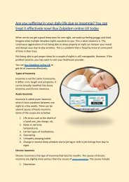 Are you suffering in your daily life due to insomnia You can treat it effectively now! Buy Zolpidem online UK today-converted