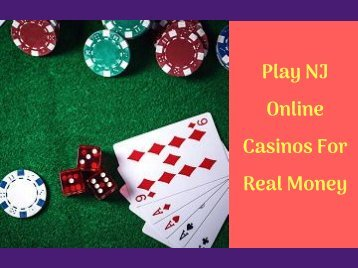 NJ Online Casinos For Real Money