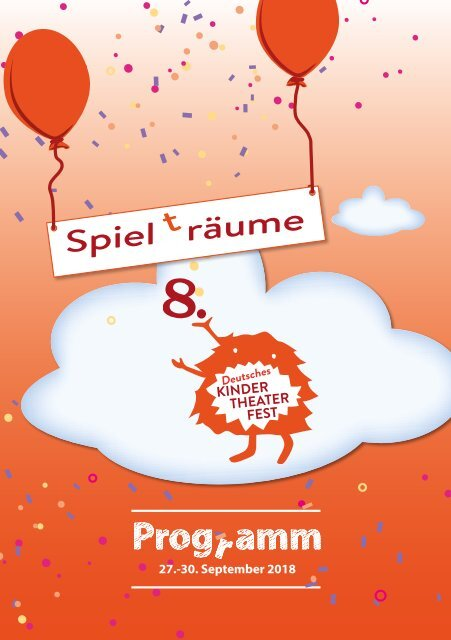 Programmheft: 8. Deutsches Kinder-Theater-Fest