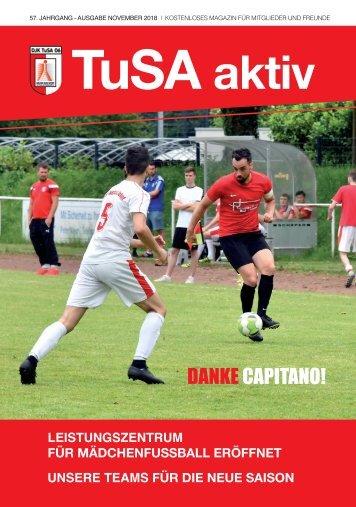 TuSA aktiv, Ausgabe November 2018