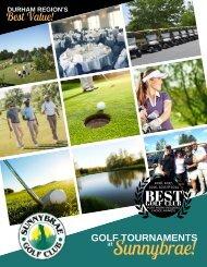 2019 Sunnybrae Golf Club Tournaments Port Perry