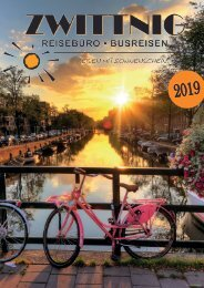 ZWITTNIG | REISEBÜRO BUSREISEN |  Katalog 2019
