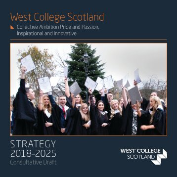 West College Scotland - Strategy 2018-2025