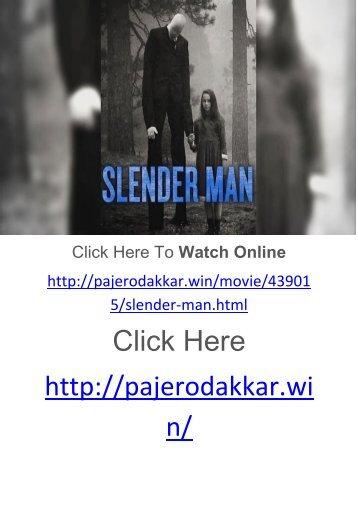 ##[@PUTLOCKErs] Watch!! Slender Man Online Full Movie for full 2018!