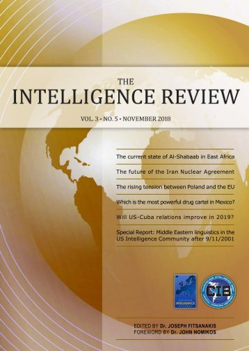 The Intelligence Review   volume 3   issue 5  