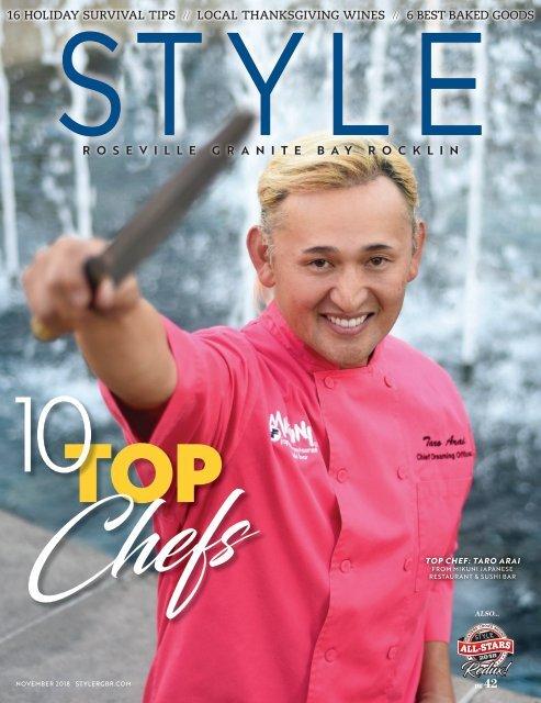 Roseville, Granite Bay & Rocklin Style Magazine 1118