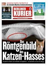 Berliner Kurier 13.11.2018