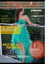 Senior Sessions page 1 Cover