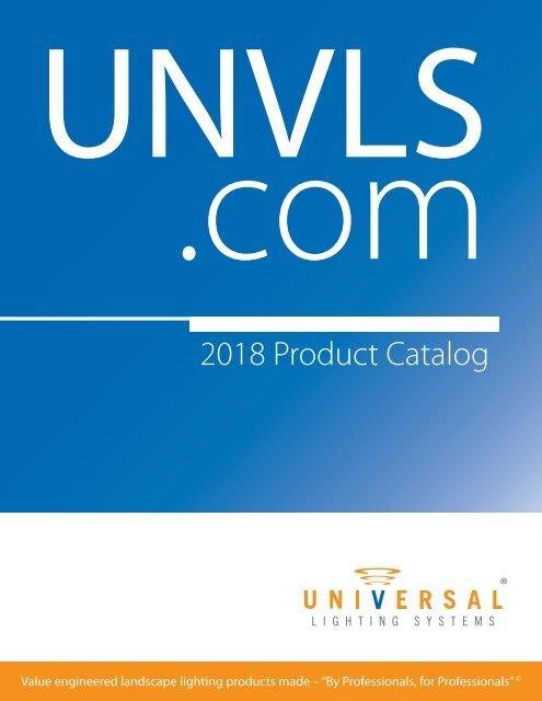 2018 Unvls Online Catalog