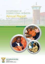 DCS Annual Report 2010.pdf - Correctional Services