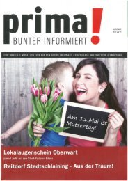 prima! Magazin - Ausgabe Mai 2014