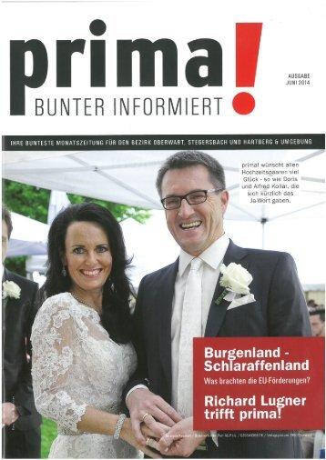 prima! Magazin - Ausgabe Juni 2014