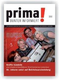 prima! Magazin - Ausgabe Juli 2014