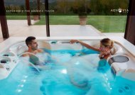 EXPERIENCE THE SPA AQUAVIA TOUCH