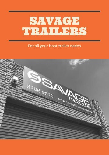 Tips and Suggestions for Boat Trailer Maintenance