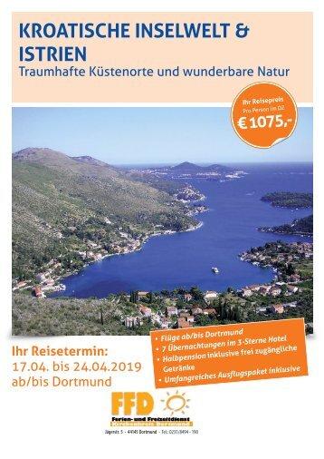 Kroatische Inselwelten