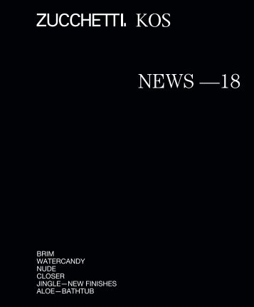Zucchetti - NEWS 2018