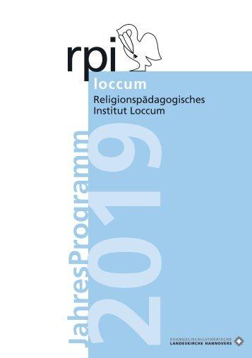 RPI-Jahresprogramm 2019