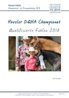 Höveler DQHA Championats- und Körungskatalog 2018 - Seite 6