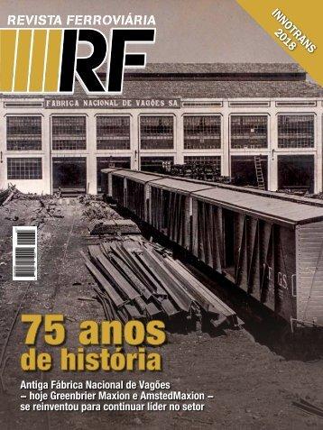 Revista Ferroviária Setembro/Outubro 2018