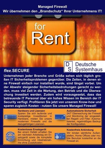 flex.SECURE - Managed Firewall Service