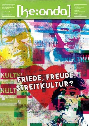 [ke:onda] [9] 2/2018 - Friede, Freude, Streitkultur