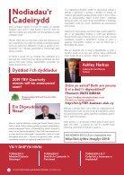 TBV Newsletter December 2018 (Welsh) - Page 2