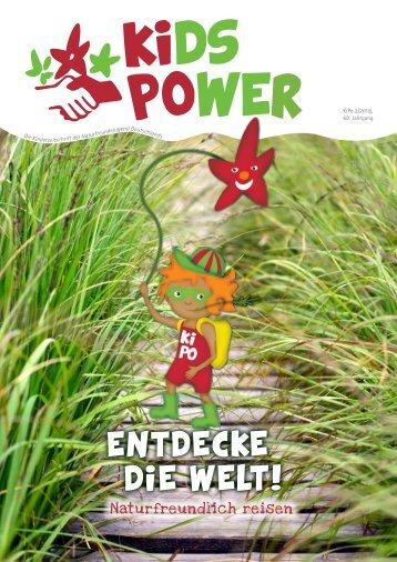KidsPower 2/2018: Entdecke die Welt!
