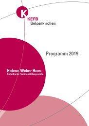 Gelsenkirchen @KEFB Bistum Essen Programm 2019