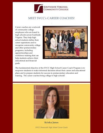 SVCC's Career Coaches
