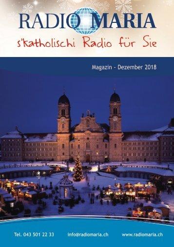 Radio Maria Magazin - Dezember 2018