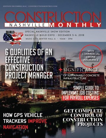 Nashville 2018 Construction Monthly