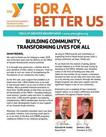 2018 YMCA Impact Newsletter