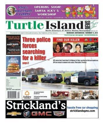 Turtle Island News - 11/14/2018