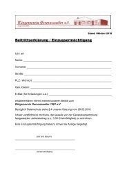 Beitrittserklärung Bürgerverein Gereonsweiler Version 2018
