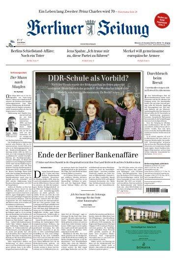 Berliner Zeitung 14.11.2018