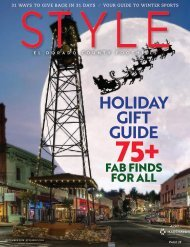 Style Magazine_El Dorado County and Foothills_December 2018