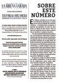 La Sirena Varada: Año II, Número 12 - Page 2